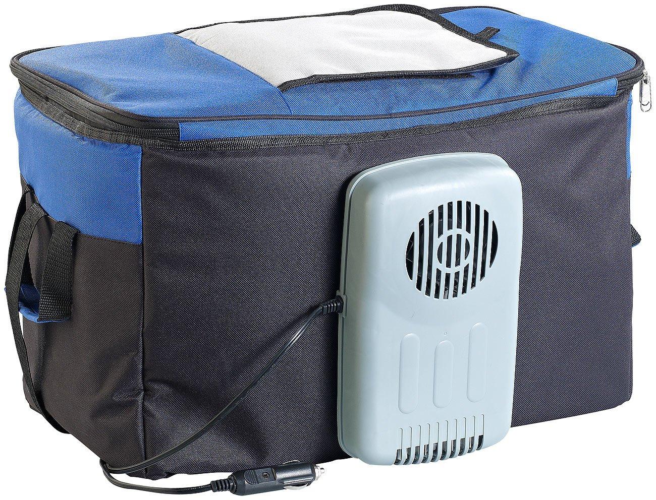 Xcase 12 Volt Kühltasche: Elektrische 12-V-Thermo-Kühltasche, 38 l (kuhltasche Auto 12V)