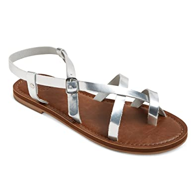 1b560f57623a Image Unavailable. Image not available for. Color  Mossimo Women s Lavinia  Toe Wrap Thong Sandal ...