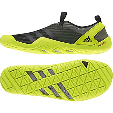 a9396f54ac24 adidas Climacool Jawpaw Slip On Shoe - Men s Base Green Black   Semi Solar  Yellow 10  Amazon.co.uk  Shoes   Bags