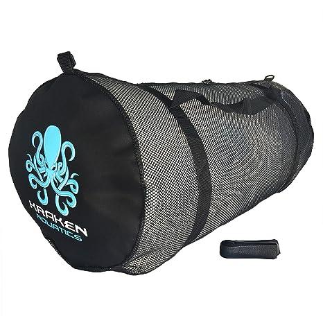 Kraken Aquatics Mesh Duffle Gear Bag with Shoulder Strap   for Scuba Diving,  Snorkeling, 9579bf93af