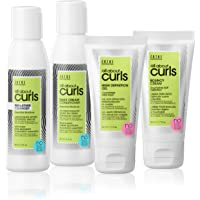 All About Curls Starter Kit/Free of SLS/SLES Sulfates*, Silicones & Parabens/Color-safe