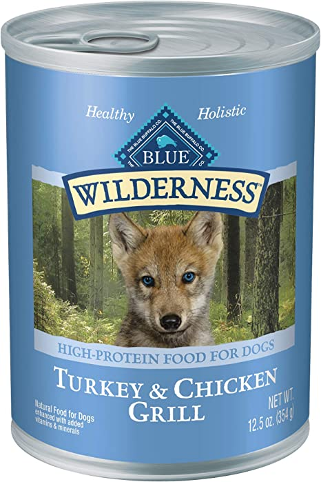 Azul Buffalo Wilderness Alta proteína Wet Cachorro Alimentos ...