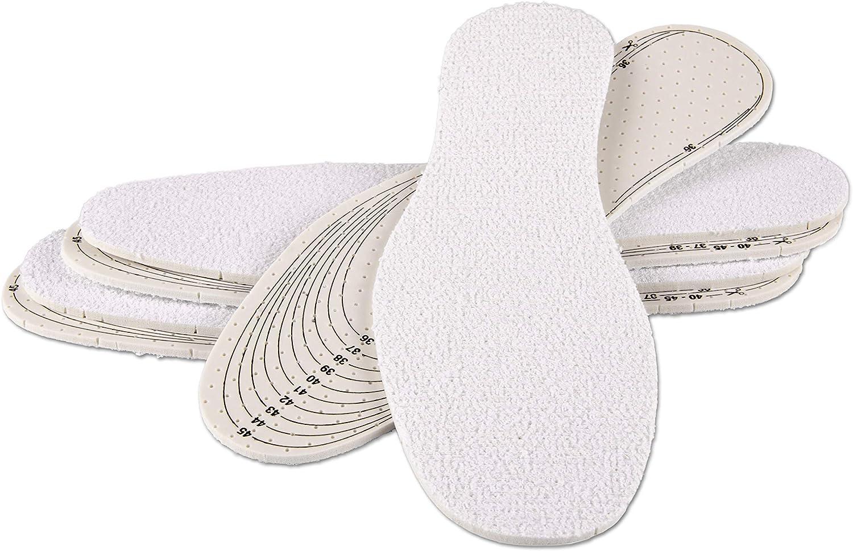 biped Set de 3 pares suelas para pies descalzos - Plantillas de algodón z2028: Amazon.es: Zapatos y complementos