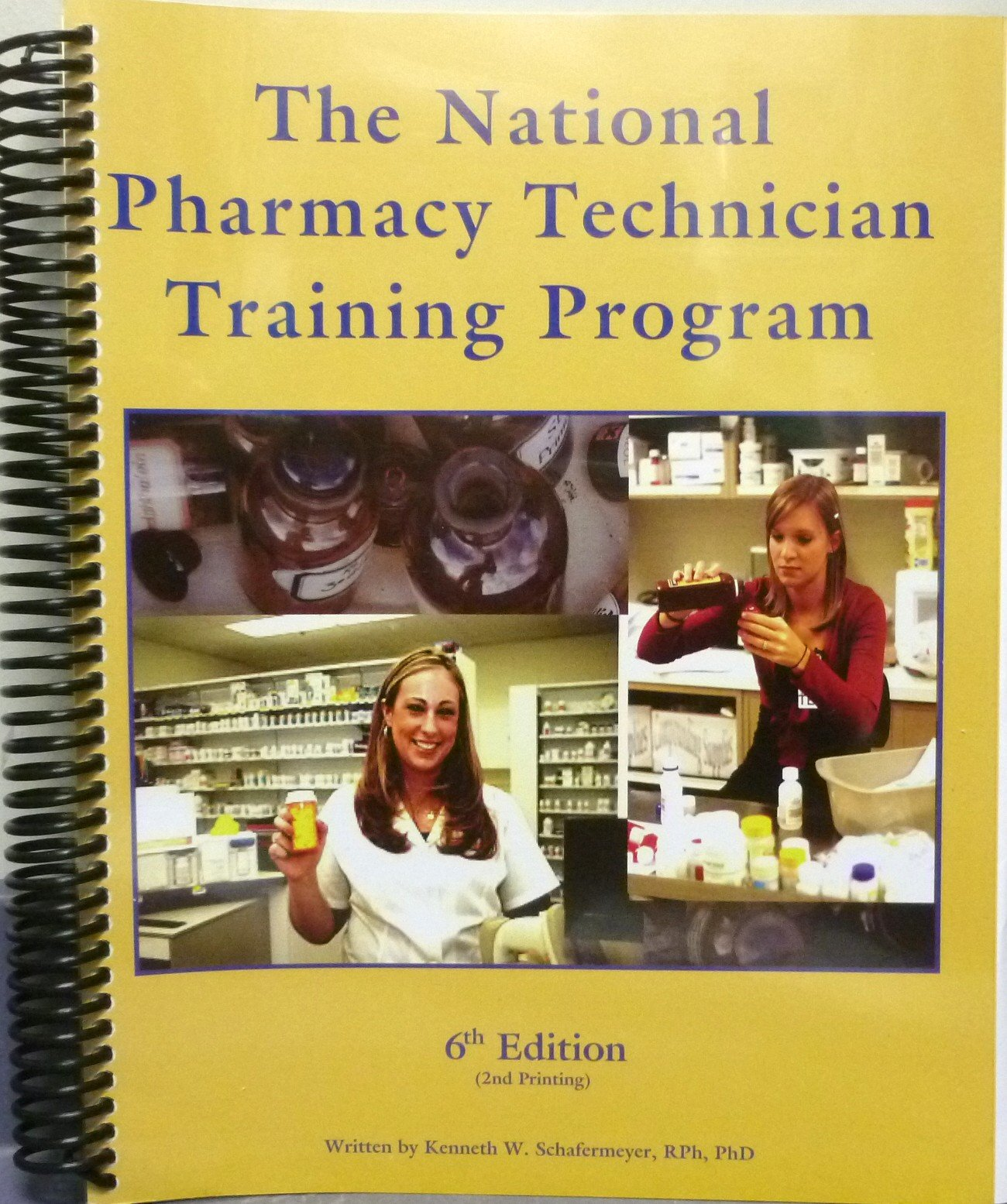 Read Online The National Pharmacy Technician Training Program 6th Edition 2nd Printing ebook