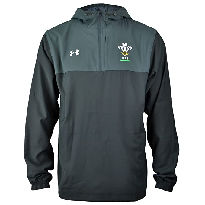 8fd6c1b4748 Under Armour Wales WRU 2017 19 Supporters Rugby Jacket - Black - Size L