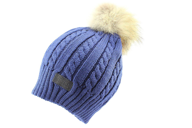 Tutu Boys Warm Winter Pom Pom Beanie Hat 3-003913