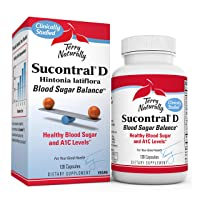 Terry Naturally Sucontral D - 20 mg Hintonia Latiflora, 120 Capsules - Supports...
