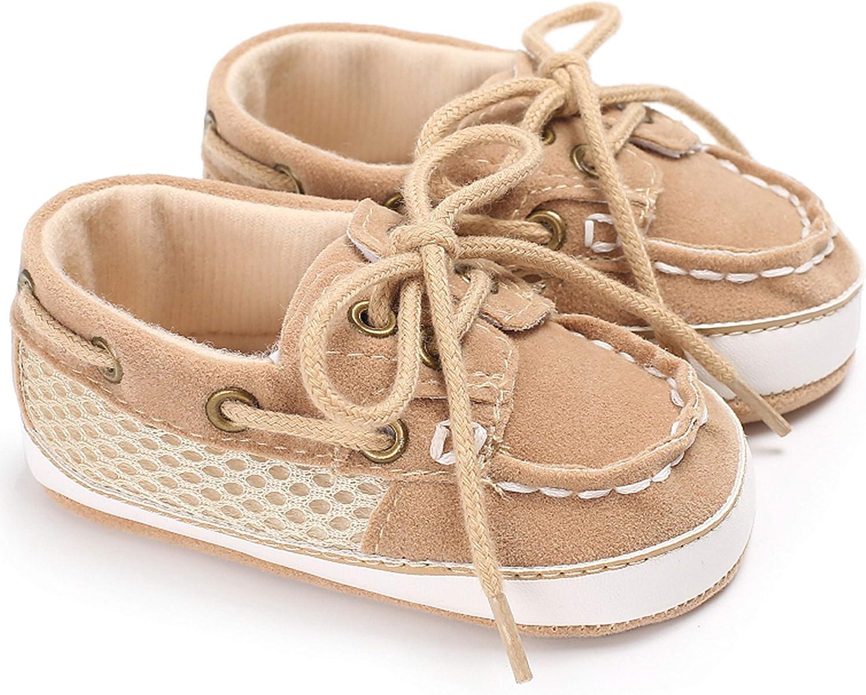 RUXIYI Babyschuhe m/ädchen Jungen Wildleder Kleinkind Schuhe rutschfeste Mode L/ässig Krabbelschuhe Geeignet f/ür 0-18 Monate