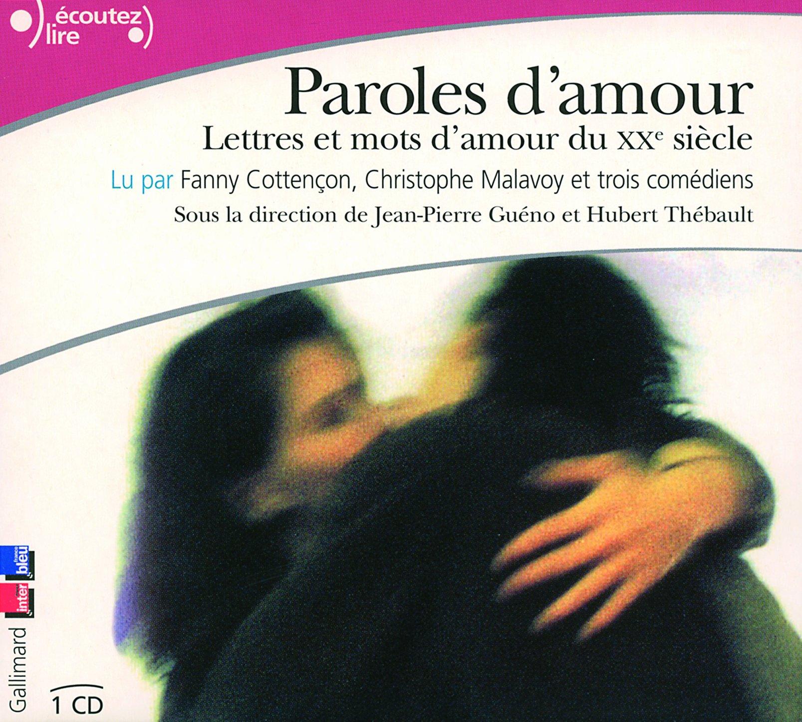 Paroles Damour Lettres Et Mots Damour Du Xxᵉ Siècle