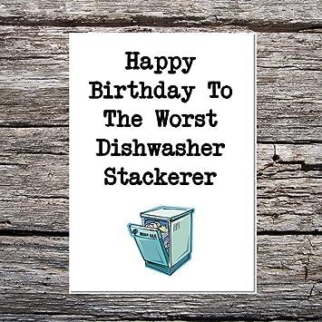 Funny af cards funny birthday worst dishwasher stackerer husband funny af cards funny birthday worst dishwasher stackerer husbandboyfriend 1 greetings card m4hsunfo