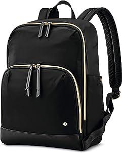Samsonite Women's Mobile Solution Business Travel (Black, Classic Backpack)