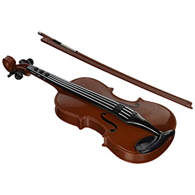Rhode Island Novelty Electronic Violin Toy Musical Portable Instrument: Toys & Games