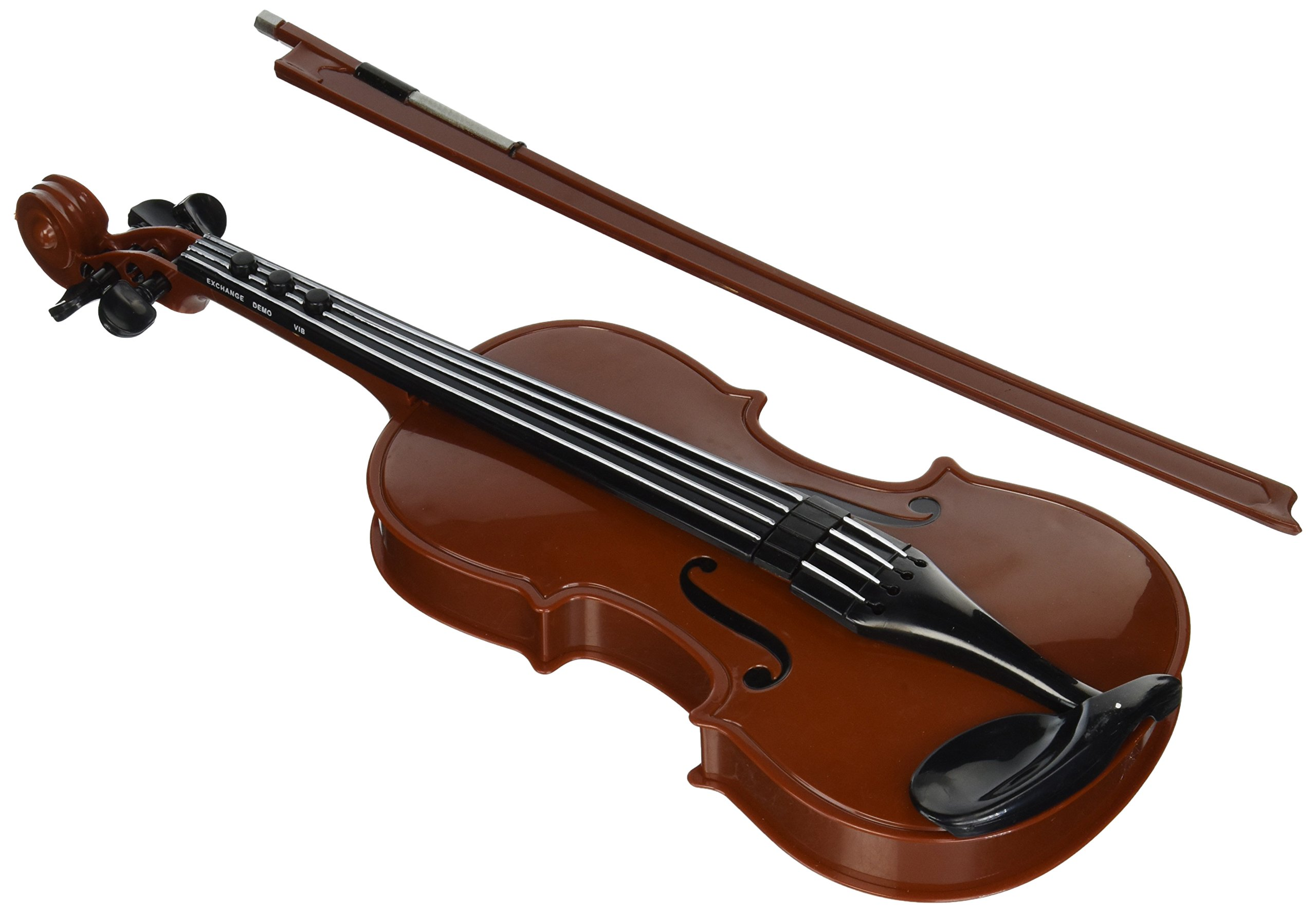 Rhode Island Novelty 097138803221 Electronic Violin Toy Musical Portable Instrument, Multi, 16.5''