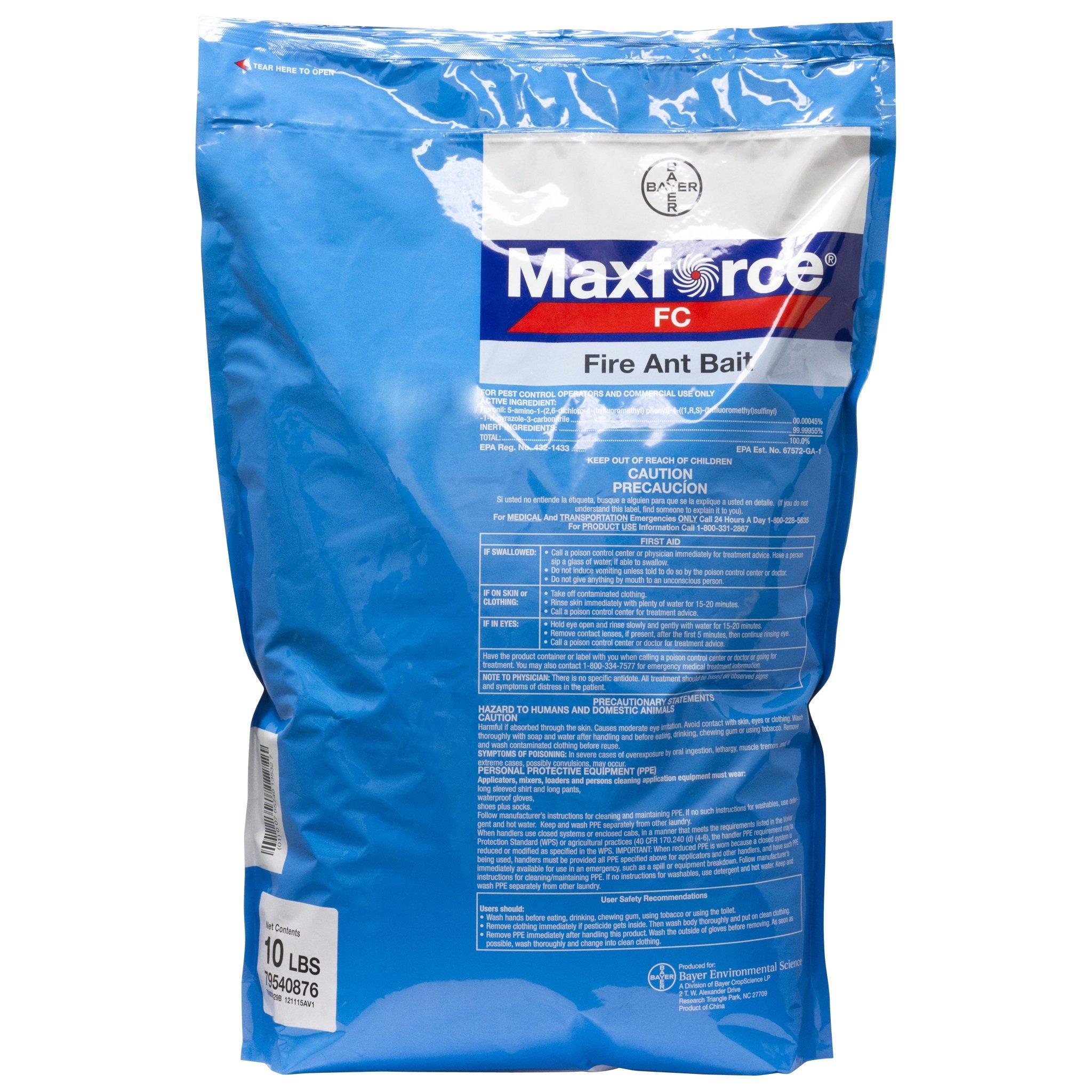 Maxforce FC Fire Ant Bait Killer 10 lbs BA1028 by Bayer