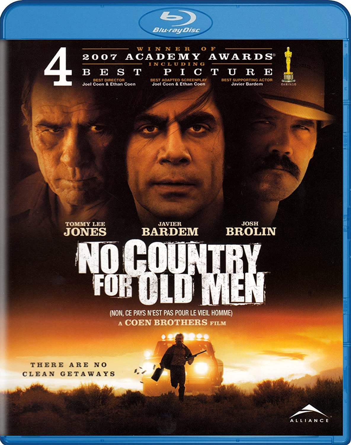Amazon Com No Country For Old Men Blu Ray Javier Bardem Rodger Boyce Josh Brolin Barry Corbin Beth Grant Tess Harper Woody Harrelson Tommy Lee Jones Stephen Root Kelly Macdonald Garret Dillahunt Ana Reeder