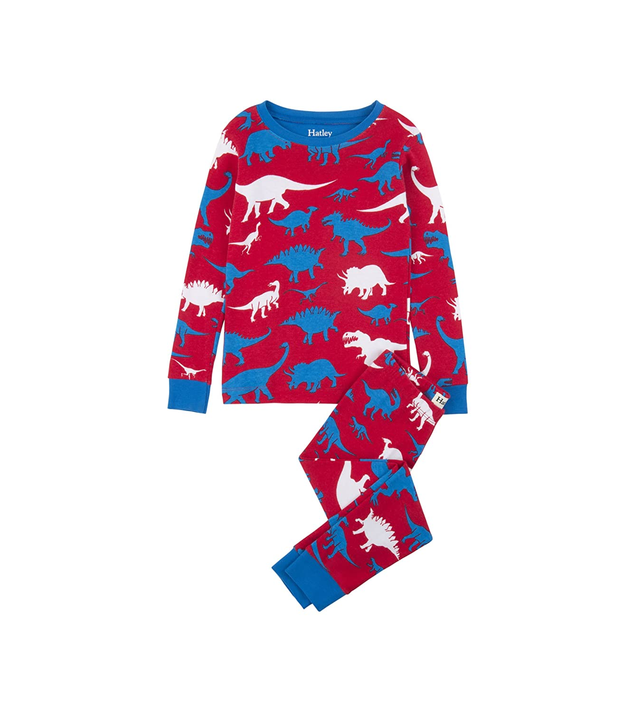 6bcd8c5127 Amazon.com  Hatley Boys  Organic Cotton Long Sleeve Printed Pajama Sets   Clothing