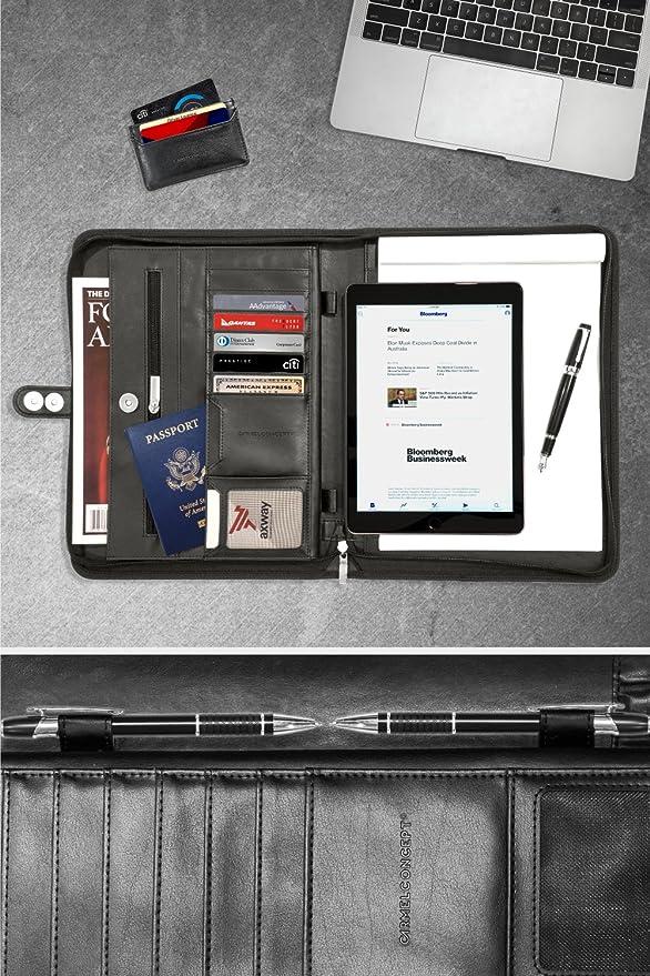 Amazon.com: CARMEL CONCEPT - Carpeta profesional con soporte ...