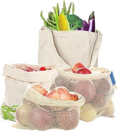 Hoga rtech de fruta & gemüsebeutel reutilizable, verduras Red ...