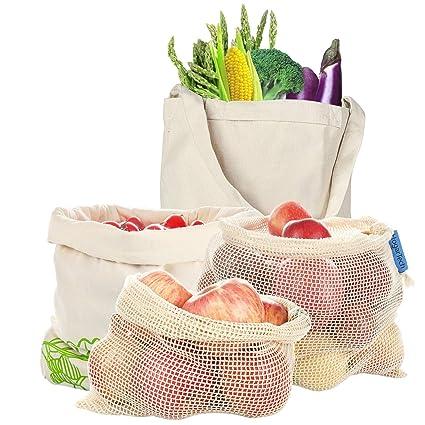 Hoga rtech de fruta & gemüsebeutel reutilizable, verduras ...