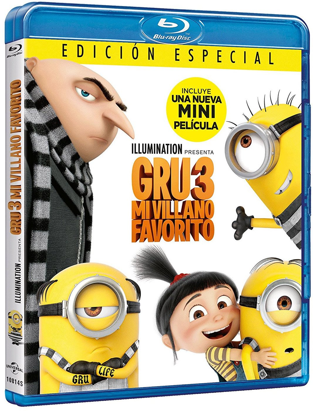 Gru 3: Mi Villano Favorito [Blu-ray]