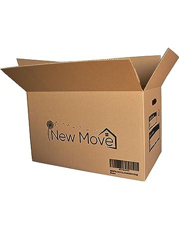 302988409 NEW MOVE - Pack de 8u. 500x300x300mm- Canal doble muy resistentes con asas  para