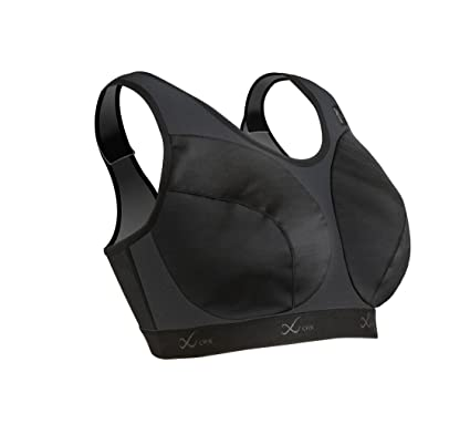 5b3394d2f6 Amazon.com  CW-X Women s Ultra Support Bra II (Black