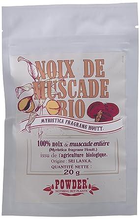 Powder Nuez Moscada Entera Ecológica - 20 gr