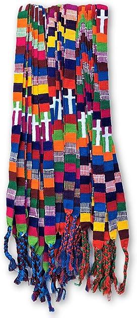 Mayan Arts Cinturones de graduación Coloridos, Tradicional ...