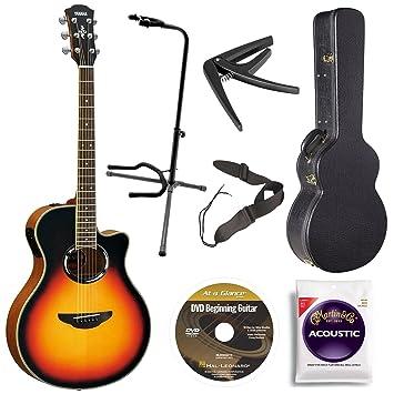 Yamaha apx500iiivs acústica Cutaway Guitarra eléctrica, Vintage ...