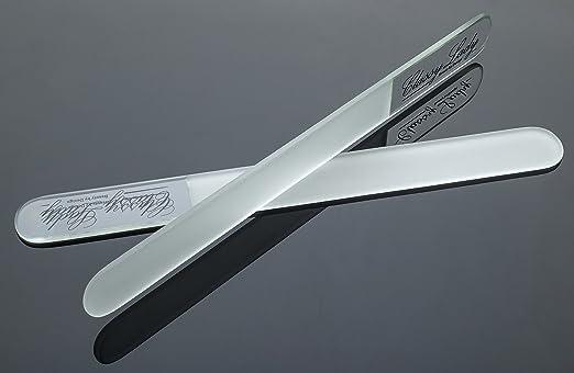 ClassyLady fibra de vidrio recortada para pistola de clavos - de cuchillos con forma de Juego de llave de cristal en forma de 3 piezas Recortada para ...