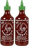Huy Fong Sriracha Hot Chili Sauce Bottle-17 Oz-2 Pack