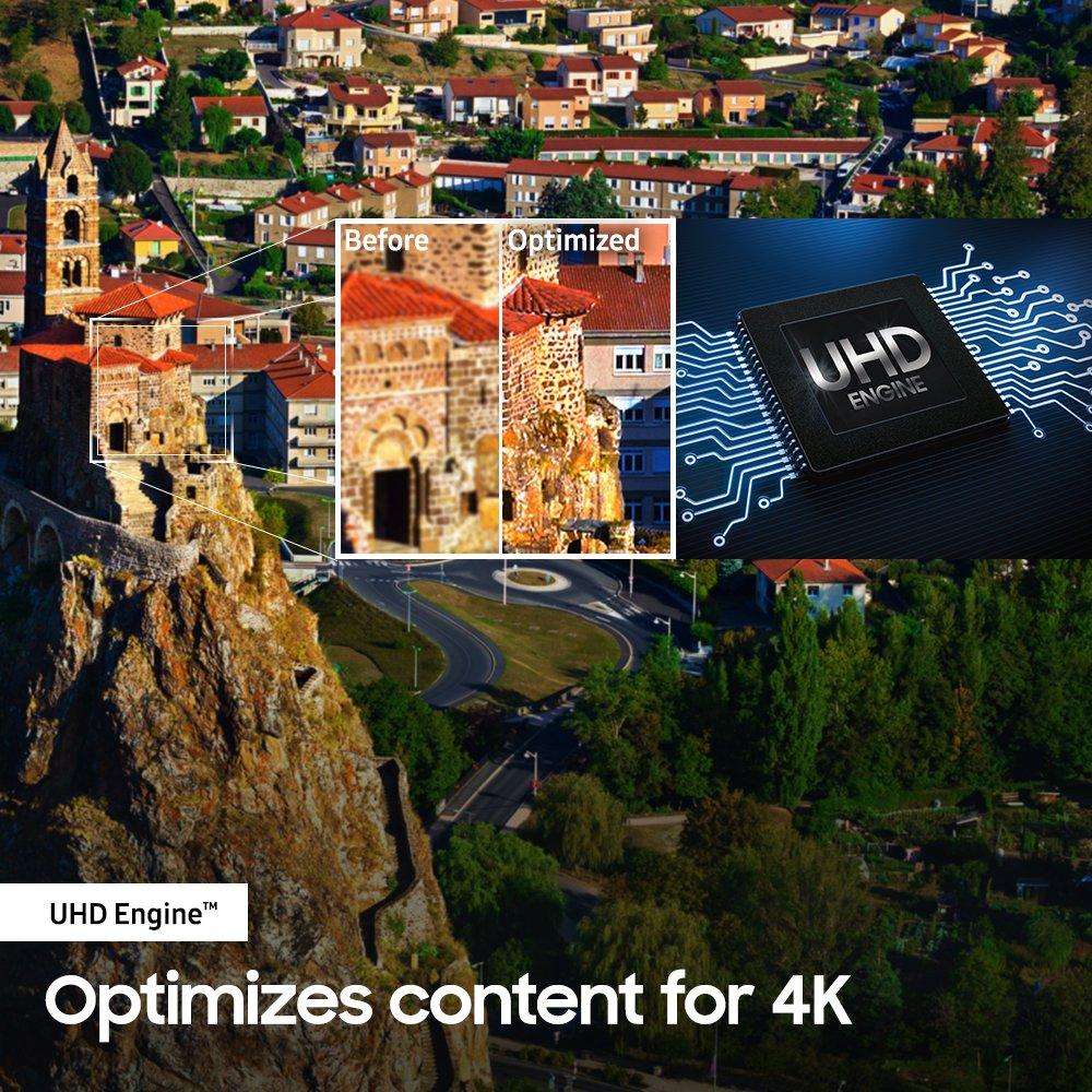 Samsung UN50NU7100 Flat 50'' 4K UHD 7 Series Smart TV 2018 by Samsung (Image #4)