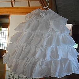 Amazon Co Jp パニエ ワイヤー4本あり ワイヤーパニエ 5段パニエ 綺麗なドレスライン作りに 花嫁用品 ロングパニエ 結婚式アイテム 並行輸入品 ベビー マタニティ