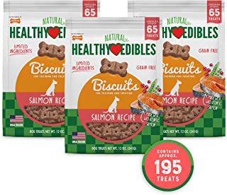 product image for Nylabone Healthy Edibles Biscuits Grain Free Dog Treats Bundle
