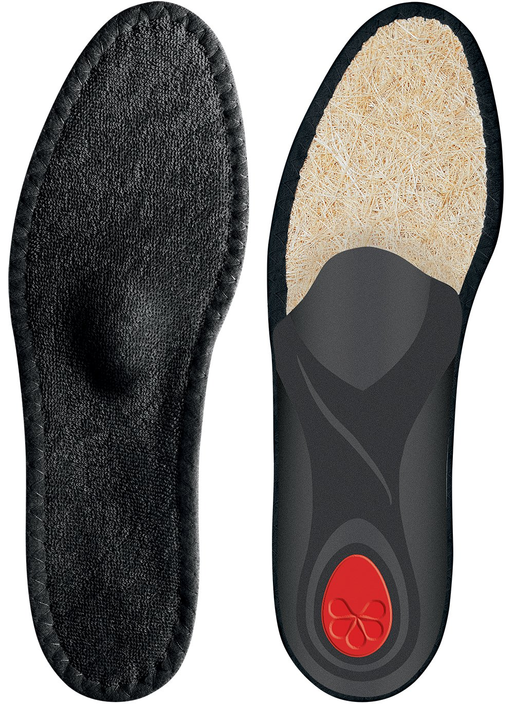 Pedag Viva Summer Black-Viva Sneaker Warm Weather Orthotic with Semi Rigid Arch, Met and Heel Pad, Black, M12/EU45