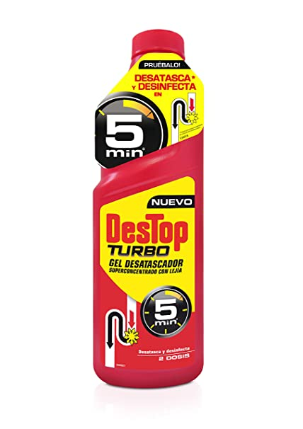Destop Gel Desatascador Turbo - 1 L