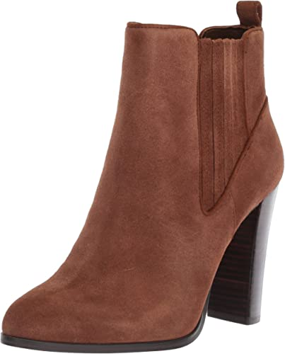 Crimson Suede Ankle Boot
