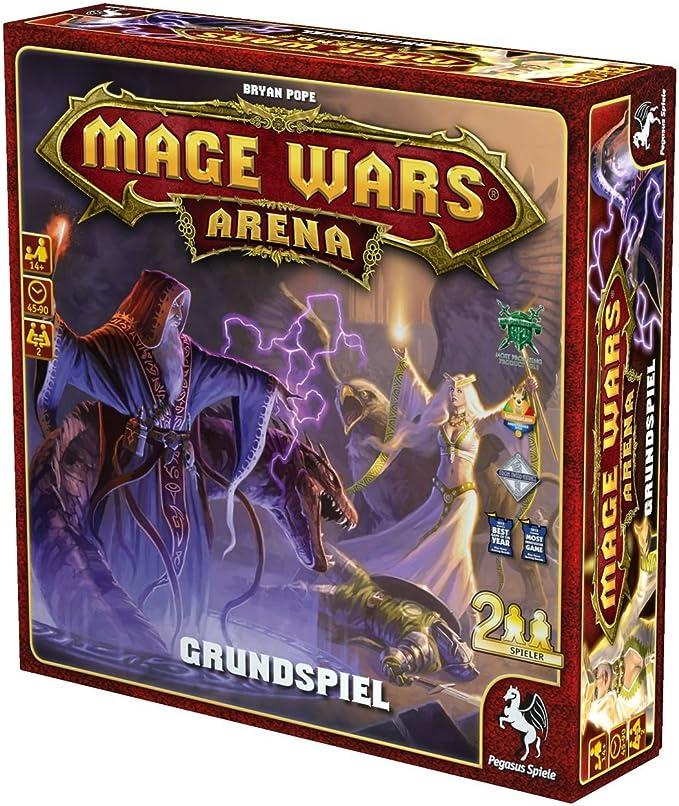 Pegasus Juegos 52070 g – Mage Wars Arena Juego Base: Amazon.es: Juguetes y juegos
