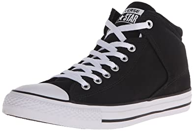 2493b138e928 Converse Chuck Taylor All Star Street HIGH TOP Sneaker Black White