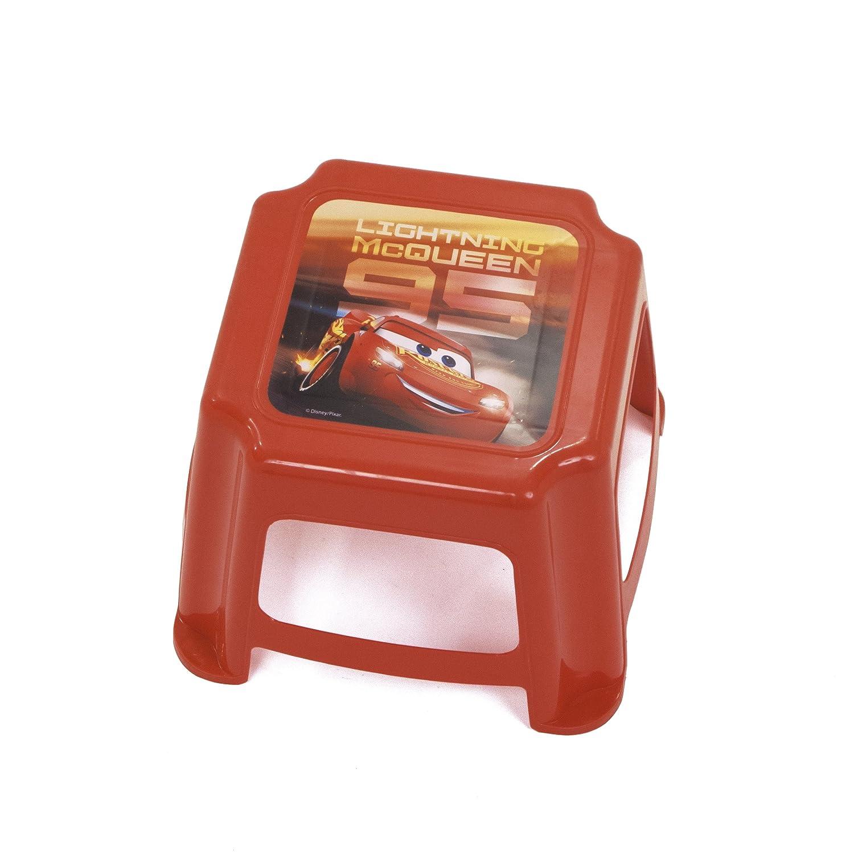 Arditex Sgabello per Bambini Antiscivolo sotto Licenza Cars 3 Dimensioni: 27 x 27 x 21 cm, Plastica, 27 x 21 x 27 cm 27x 21x 27cm WD11967