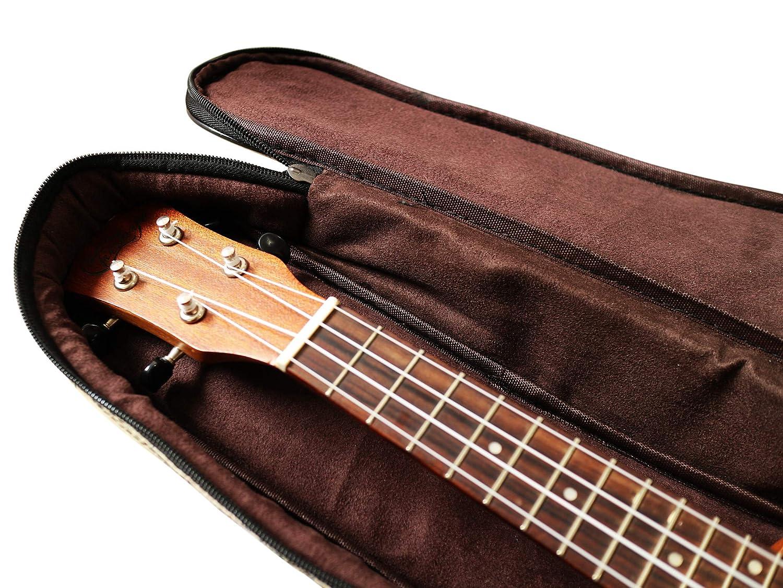 New Arrial MUSIC FIRST Original DesignAncient Map Waterproof ukulele case ukulele bag ukulele cover Fit for 21 inch Soprano Ukulele