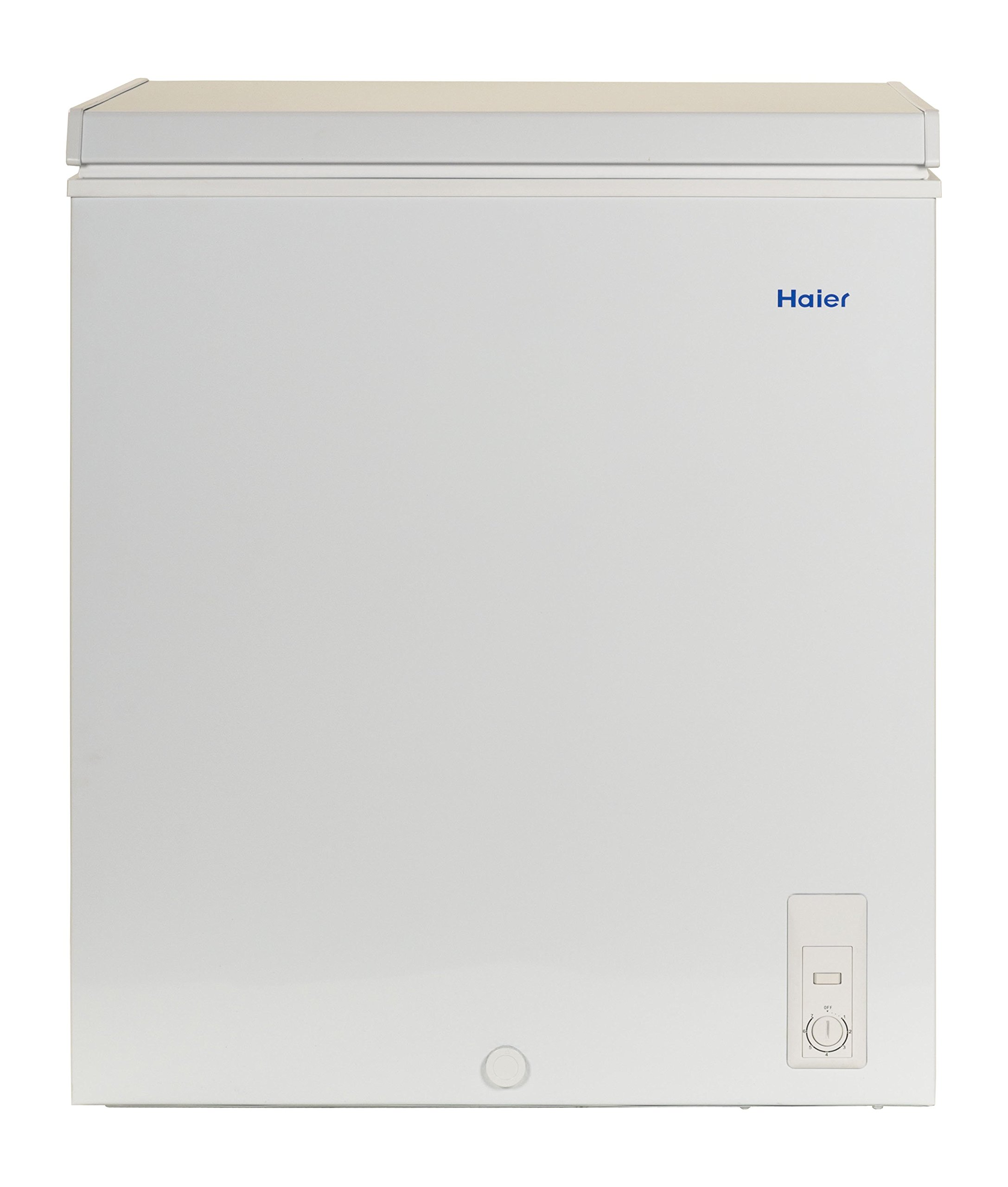 Haier HF50CM23NW 5.0 cu. ft. Capacity Chest Freezer, White by Haier