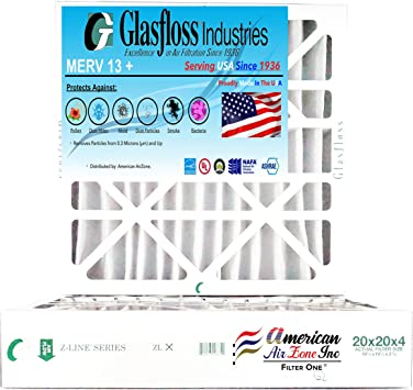 Pack Of 4 Air Filter 20X20X4