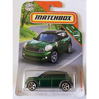 Matchbox 2020 MBX Road Trip 5/20: '11 Mini Countryman (Green): Toys & Games