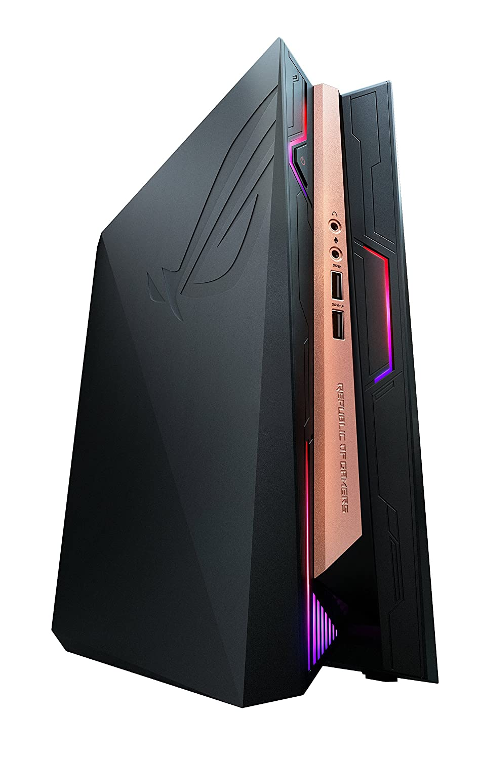 ASUS GR8 II-6GT025Z - Ordenador de sobremesa (Intel Core i7-7700, 16 GB RAM, 1 TB HDD, Nvidia GeForce GTX1060, Windows 10 Original), Negro y Rojo