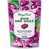 MegaFood, Kids Multivitamin Soft Chews, Daily Supplement, Supports Child Development and Growth, Gluten-free, Vegetarian…