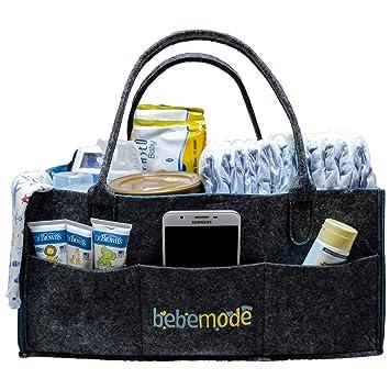 Amazon.com: bebemode – PREMIUM Caddy de pañales de bebé ...