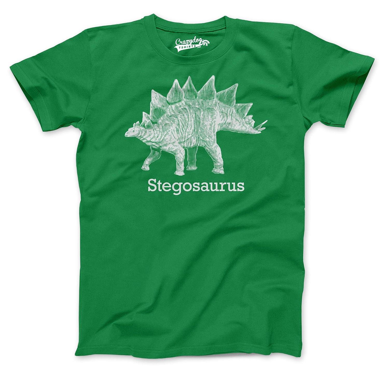 5efe3507e Amazon.com: Stegosaurus Graphic T-Shirt Vintage Dinosaur Print Shirt Dino  Jurassic: Clothing