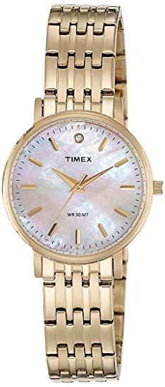 dc8f0ab50f6 Buy Timex Analog Champagne Dial Women s Watch - TW0TL9109 Online at ...