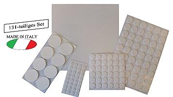 Set De Patins En Feutre Pour Meubles Mobelpads 131er Set Blanc
